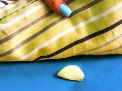 put garlic under pillow when u sleep
